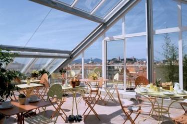 Hotel L'esterel: Terraza CANNES