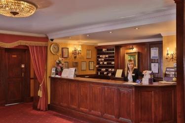Hotel Best Western Abbots Barton: Lobby CANTERBURY