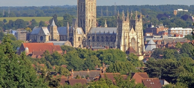 Hotel Becket Court - University Of Kent: Camera Standard CANTERBURY
