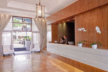 Hotel Winchester Mansions: Lobby CAPE TOWN