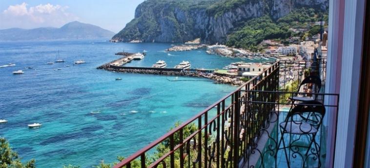 Hotel Capri Inn: Balcony CAPRI ISLAND - NAPLES