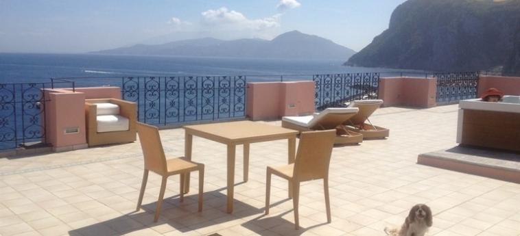 Hotel Capri Inn: Solarium CAPRI ISLAND - NAPLES