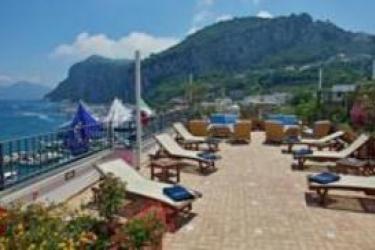 Hotel Relais Maresca: Terrasse CAPRI ISLAND - NAPLES
