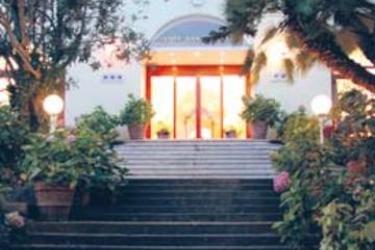 Hotel San Michele: Eingang CAPRI ISLAND - NAPLES