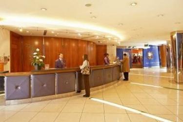 Hotel Hilton Cardiff: Lobby CARDIFF