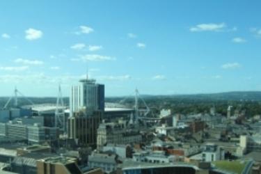 Hotel Radisson Blu Cardiff: Vista CARDIFF