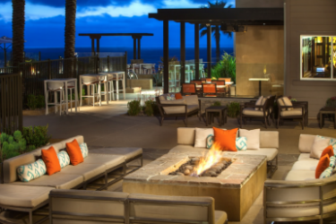 Hotel Cape Rey Carlsbad, A Hilton Resort: Außen Restaurant CARLSBAD (CA)