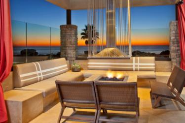 Hotel Cape Rey Carlsbad, A Hilton Resort: Kamin CARLSBAD (CA)