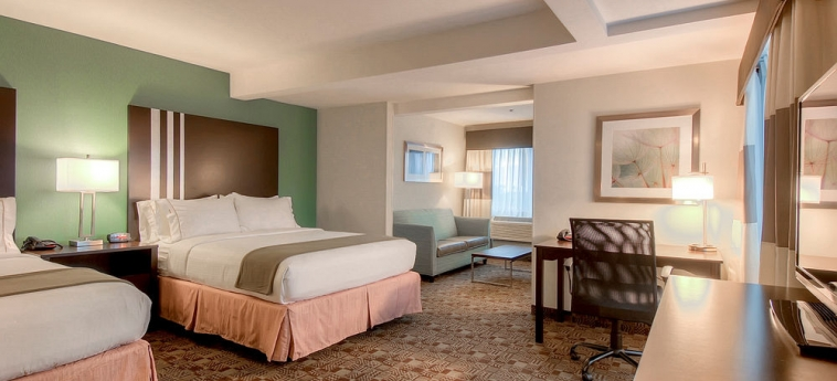 Hotel Holiday Inn Express Carlsbad Beach: Chanbre CARLSBAD (CA)