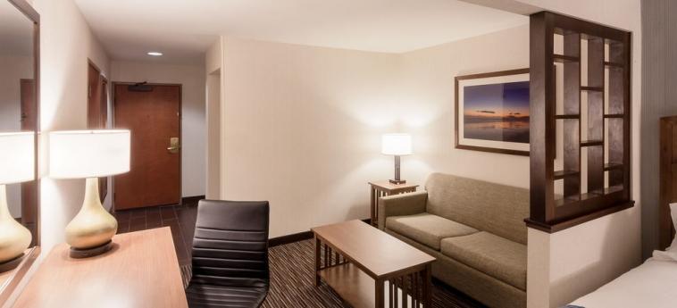 Hotel Holiday Inn Express & Suites: Stanza degli ospiti CARPINTERIA (CA)