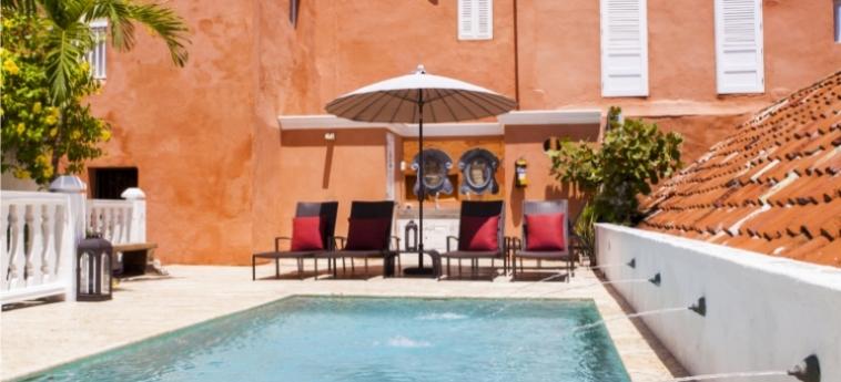 Casa Del Coliseo: Swimming Pool CARTAGENE