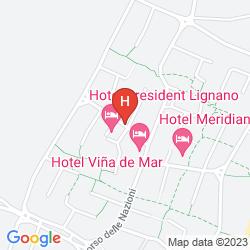 Plan HOTEL PRESIDENT