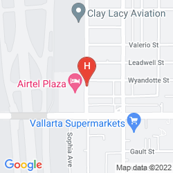 Plan AIRTEL PLAZA HOTEL & CONFERENCE CENTER