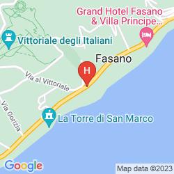 Plan MONTE BALDO E VILLA ACQUARONE