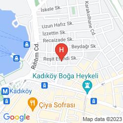 Plan ZIRVE HOTEL KADIKOY