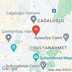 Plan NOAHS ARK HOTEL ISTANBUL