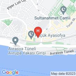 Plan SIESTA HOTEL ISTANBUL