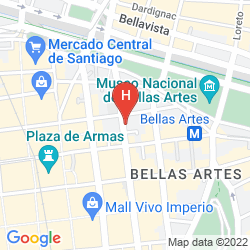 Plan BELLAS ARTES SUITES