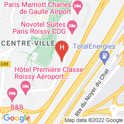 Plan RELAIS SPA PARIS - ROISSY CDG