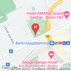 Plan MOTEL ONE BERLIN-HAUPTBAHNHOF