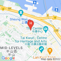 Plan CITADINES MERCER HONG KONG