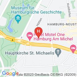 Plan ADINA APARTMENT HOTEL HAMBURG MICHEL