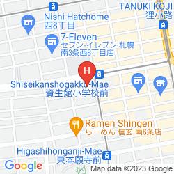 Plan APA HOTEL SAPPORO SUSUKINO EKINISHI