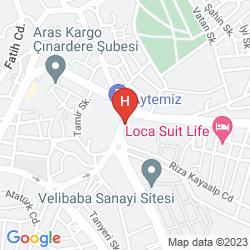 Plan TRAKYA GRAND HOTEL SILIVRI