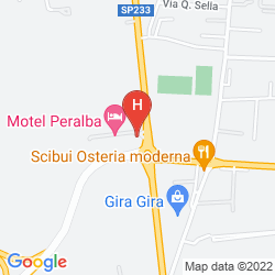 Plan MOTEL PERALBA