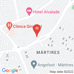 Plan ALDEAMENTO DA MULEMBA RESORT HOTEL