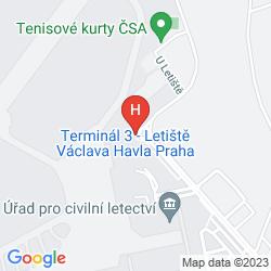 Plan RAMADA AIRPORT PRAGUE