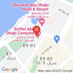 Plan SOFITEL ABU DHABI CORNICHE