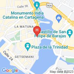 Plan CASA CANABAL HOTEL BOUTIQUE