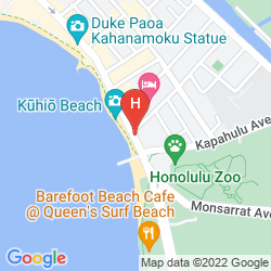 Plan ASTON WAIKIKI BEACH HOTEL