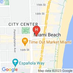 Plan ALBION HOTEL SOUTH BEACH