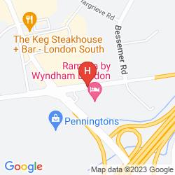 Plan STAYBRIDGE SUITES LONDON