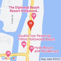 Plan THE DIPLOMAT BEACH RESORT HOLLYWOOD, CURIO COLLECTION BY HILTON