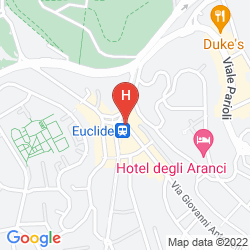 Plan RADISSON BLU GHR HOTEL, ROME