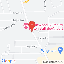 Plan HOMEWOOD SUITES BY HILTON BUFFALO-AIRPORT