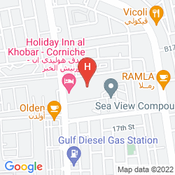 Plan HOLIDAY INN AL KHOBAR - CORNICHE