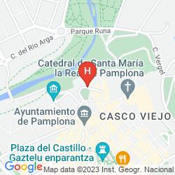 Plan PAMPLONA CATEDRAL HOTEL