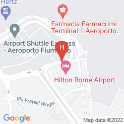Plan HILTON ROME AIRPORT
