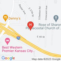 Plan ADAM'S MARK HOTEL & CONFERENCE CENTER - COCO KEY WATER RESORT