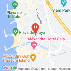 Plan PALM BEACH TENERIFE