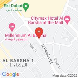 Plan CORAL DUBAI AL BARSHA
