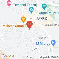 Plan CAPPADOCIA PALACE HOTEL