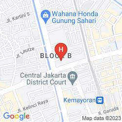 Plan GOLDEN BOUTIQUE HOTEL