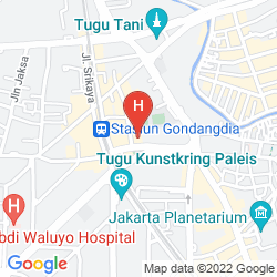 Plan KAWANUA AEROTEL JAKARTA