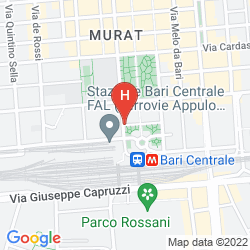Plan GRAND HOTEL LEON D'ORO