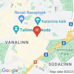 Plan BALTIC HOTEL VANA WIRU